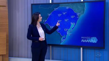 Tempo: Norte do RS deve receber chuva nesta quarta-feira (4) - Veja como fica a previsão.