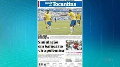 Veja os destaques do Jornal do Tocantins e do Jornal Daqui desta terça-feira (3) - Veja os destaques do Jornal do Tocantins e do Jornal Daqui desta terça-feira (3)