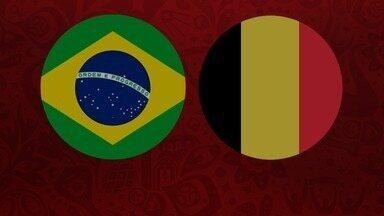 1º Tempo - Brasil 1 x 2 Bélgica - Quartas de final - 1º Tempo - Brasil 1 x 2 Bélgica - Quartas de final