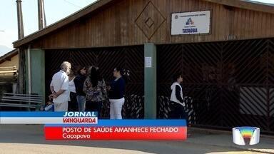 Dona de imóvel onde funciona posto de saúde fecha local em Caçapava - Unidade amanheceu fechada por causa de dívida de aluguel.