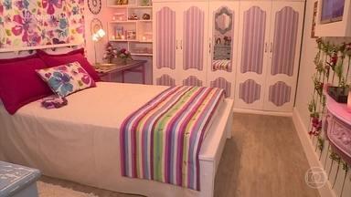 Maria das Graças se emociona com quarto reformado pelo 'Dando um Retoque' - undefined