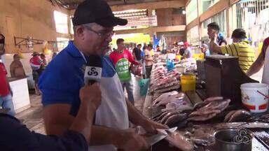 Preço de peixes aumenta em feiras de Itacoatiara - Produtores buscam alternativas.
