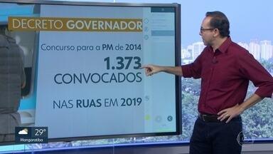 Governo do Rio convoca aprovados em concurso da PM de 2014 - 1.373 aprovados no concurso foram convocados pelo estado, pra Polícia Militar do Rio.