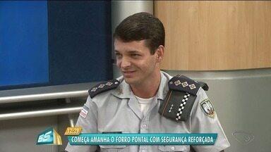 Segurança será reforçada no Forró Pontal, no Norte do ES - Polícia Militar está com mais soldados no local.