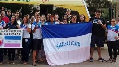 Atletas de kickboxing do Norte do ES vão para competição no Paraná - Vendedores vão disputar o Pan-Americano.