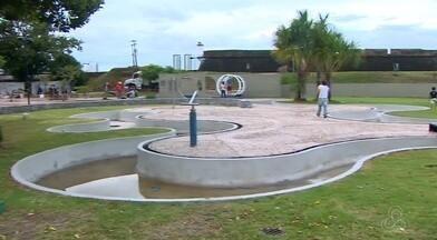 Fortaleza de São José de Macapá está com obras de revitalização - Espaço inaugurado há mais de 10 anos passa pela primeira vez por uma revitalização completa