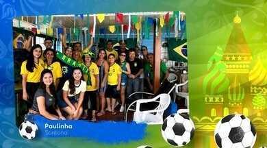 Tô na Rede: torcedores enviam fotos no clima da torcida pelo Brasil - Jogo entre Brasil e Bélgica deixa amapaenses animados para a partida nesta sexta-feira