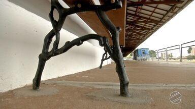 Esplanada Ferroviária de Campo Grande passará por reformas - Local está abandonado atualmente.