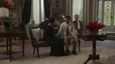Camilo procura Julieta e pede ajuda - Ele desiste ao concluir que foi ela quem contou das lutas para Jane
