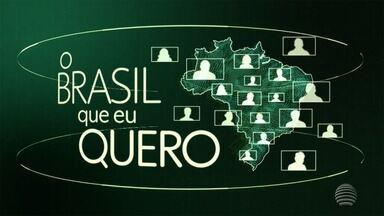 Que Brasil você quer para o futuro? Veja como enviar o seu vídeo - A Globo quer ouvir o desejo dos brasileiros de todas as cidades do país.