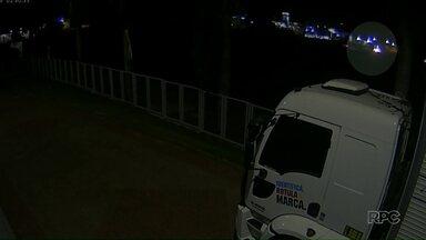 Vídeo: imagem mostra acidente na BR-376, em Marialva - Motorista do caminhão que foi preso pagou fiança e vai responder em liberdade