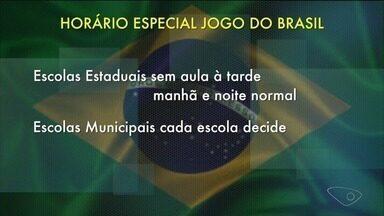 Confira o que abre e o que fecha em Cachoeiro durante o jogo do Brasil - Comércio tem horário especial.