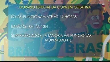 Confira o que abre e o que fecha durante o jogo do Brasil na Copa do Mundo nesta sexta - Confira o que abre e o que fecha durante o jogo do Brasil na Copa do Mundo nesta sexta.