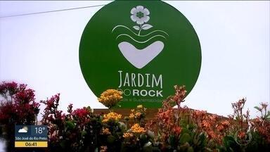 Quadro Verde mostra jardim na cobertura da Galeria do Rock - Ponto turístico de São Paulo esconde um oásis verde no centro da capital