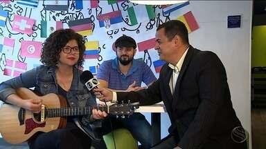 Cantora Roberta Campos se apresenta em Aracaju - O show faz parte do Projeto Cronovisor que está em turnê pelo Brasil.