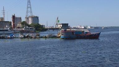 Rio Negro dá sinais de início da vazante em Manaus - Rio Negro dá sinais de início da vazante em Manaus