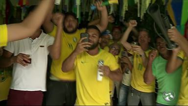 Em Garanhuns, torcedores lamentam eliminação da seleção brasileira na Copa do Mundo - Brasil foi derrotado pela Bélgica por 2 a 1.