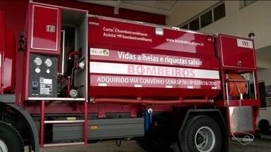 Corpo de Bombeiros ganha reforço em São Mateus, no Norte do ES - Corpo de Bombeiros ganha reforço em São Mateus, no Norte do ES.