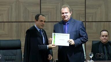 Mauro Carlesse é diplomado governador do Tocantins - undefined