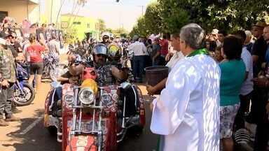 Moto Romaria é realizada em Santo Expedito - Evento aconteceu no fim de semana.