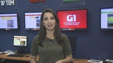 Mayara Corrêa traz os destaques do G1 nesta segunda-feira - Mayara Côrrea traz os destaques do G1 Sorocaba e Jundiaí.