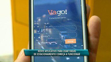Começa a funcionar novo aplicativo para usar as vagas do Estar, em Cascavel - O novo aplicativo pode ser baixado em celulares que tenham o sistema IOS e Android.
