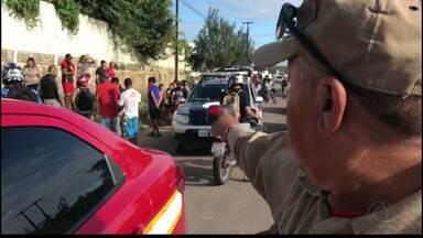 Bandido é atropelado logo depois de assalto em João Pessoa - Atropelamento aconteceu no Distrito Industrial.