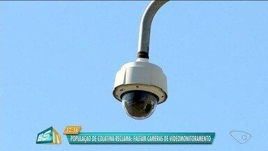Apenas 20 de 80 câmeras previstas funcionam em Colatina, no Noroeste do ES - Secretaria da Segurança informou que as outras 60 câmeras foram devolvidas. Prefeitura disse que vai pedir mais 20 câmeras.