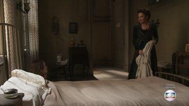Lady Margareth humilha Elisabeta e promete se vingar - Ela culpa a Benedito pela morte de Briana e avisa que se vingará dela e de Darcy