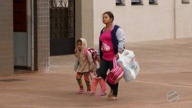 Moradores de MS são surpreendidos por frente fria - A mínima de Campo Grande foi 10,4º C às 8h da manhã, nesta segunda-feira (9).