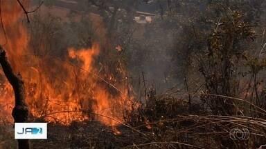 Bombeiros previnem queimadas em Goiás - Incêndios aumentam durante período de seca no estado.