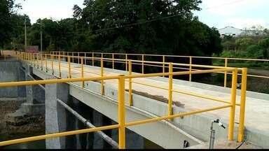 Fim das obras da ponte de Boapaba está atrasado, em Colatina, ES - Última promessa é de que as obras terminariam em junho deste ano.