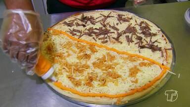 Mercado das pizzas tem amplo crescimento baseado na inovação em Santarém - O município conta com quase 40 pizzarias das tradicionais às inovadoras e sempre tem alguém querendo investir no ramo.