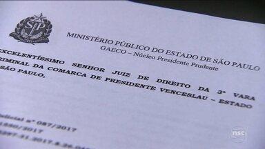 Denúncia do MP aponta atuação de organização criminosa nacional em SC - Denúncia do MP aponta atuação de organização criminosa nacional em SC