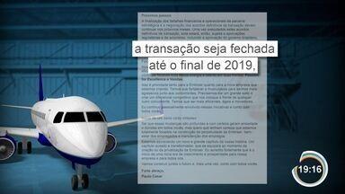 Embraer e Boeing terão que definir destino das unidades da fabricante brasileira - A maior delas, em São José, vai ser repassada à nova empresa.