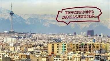 Enquanto isso numa laje do Irã - Que Alá abençoe esse bronzeado!