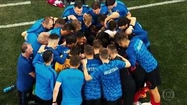 Croácia chega na final da Copa do Mundo no limite físico mas com raça de sobra - Croácia chega na final da Copa do Mundo no limite físico mas com raça de sobra