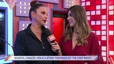 Vem aí a sétima temporada do 'The Voice Brasil' - Vivian Amorim conversou com os técnicos para saber todas as novidades da temporada, que estreia nesta terça-feira