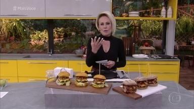 Ana Maria explica o que é fumaça líquida e fumaça em pó - A fumaça pode ser utilizada para conferir sabor e aroma de defumado às carnes e hambúrgueres