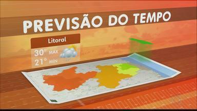 Confira a previsão do tempo para PB - Do Litoral ao Sertão, veja os detalhes.