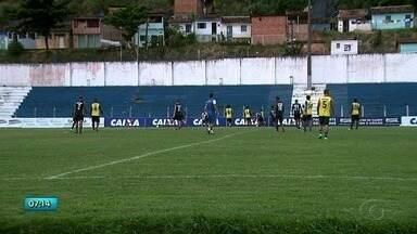 CSA segue se preparando para confronto com o Fortaleza pela liderança da Série B - Veja a reportagem