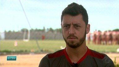 Jogador Felipe Meneses fala sobre sua contratação no CRB - CRB enfrenta o Juventude no sábado.