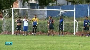 CSA se prepara para jogo contra o Fortaleza no Rei Pelé - Jogo será realizado na saxta-feira.