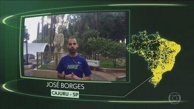 Vídeos de Cajuru, Caridade, Ipiranga de Goiás, Touros, Fortuna de Minas e Rondon - Moradores de Cajuru (SP), Caridade (CE), Ipiranga de Goiás (GO), Touros (RN), Fortuna de Minas (MG) e Rondon (PR) dizem o que querem para o futuro.
