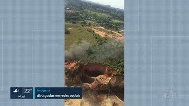 Duas pessoas morrem na queda de um ultraleve, na Ilha de Guaratiba - A aeronave se chocou com um barranco logo após a decolagem, próximo à pista do aeroclube e explodiu. Piloto e co-piloto morreram carbonizados, Os nomes das vítimas não foram divulgados.