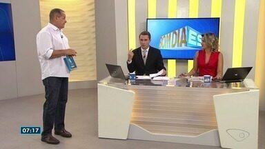 Confira os destaques do esporte com o comentarista Paulo Sérgio - Copa ES está entre os assuntos de hoje.