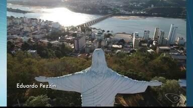 Estátua do Cristo Redentor de Colatina será reaberta para visitação pública, no ES - Missa foi celebrada no local.