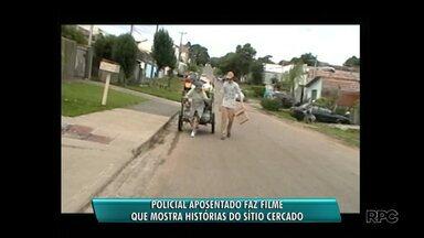 Policial aposentado faz filme sobre Sítio Cercado - O filme conta a história de uma catadora de papel.