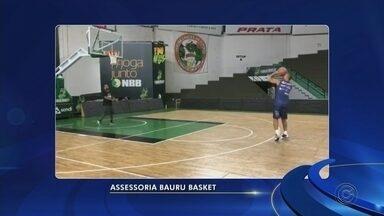 Alex do Bauru Basket já está treinando com bola - Expectativa é de que o craque do time volte as quadras em novembro