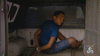 Homem é preso durante Operação 'Choque de Ordem' na Zona Oeste de Manaus - Operação cumpre mandados de prisão de envolvidos em homicídios.